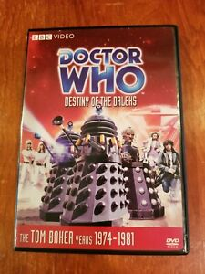 Doctor Who Destiny of the Daleks DVD Tom Baker