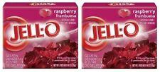 Jell-O Raspberry Instant Jello Gelatin Mix 6 oz Box 2 Pack
