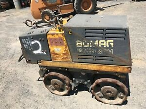 2004 Bomag BMP 851 Trench compactor
