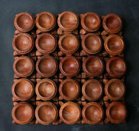 10PCS 30mm INNER diameter Rosewood Stand for Sphere&Egg