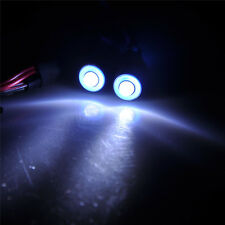 2Pcs Leds Angel & Demon Eyes LED Headlight10mm Back Light fr 1/10 RC Car