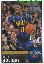 225 JRUE HOLIDAY USA NEW ORLEANS PELICANS STICKER NBA BASKETBALL 2017 PANINI