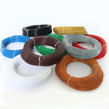 FEP Wire Single Core Stranded Tinned Copper Cable OD 1.36mm UL1332 22AWG
