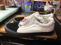 Vans Old Skool (Native Suede) White/Black NIB Size US Men's 10.5 VN0A38G1QVV