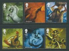 GREAT BRITAIN 2009 MYTHICAL CREATURES SET OF 6 FINE USED