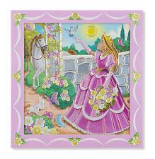Melissa & Doug Flower Bouquet Hand Mirror Peel & Press Sticker  #8577 BRAND NEW