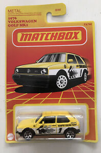 2021 MATCHBOX Retro #14 - 1976 VW Volkswagen Golf Mk1 (Yellow) - New & Unopened