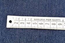 D15 INDACO SCURO DENIM BLU 96% RING SPUN COTONE 4%EA COMFORT ELASTICO 145cm