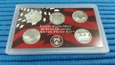 2003 S United States Mint 50 States Quarters Silver Proof Coin Set