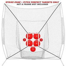 PowerNet Pitch Perfect Targets and Strike Zone Attachment for 7x7 Net Bundle