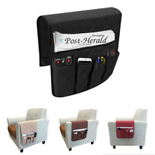 5 Pocket Polyester Armchair Storage Bag Remote Control Phone Couch Holder Chair