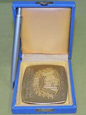 DDR Verdienstplakette DVfV gold - Deutscher Verband für Versehrtensport der DDR