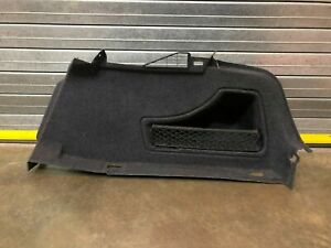 Audi S5 A5 Rear Right Trunk Side Boot Carpet Trim Panel