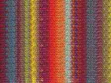 NORO ::Silk Garden #341:: silk mohair wool yarn Orange-Wine-Aqua-Lemon-Lime