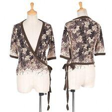 (SALE) Jean Paul GAULTIER CLASSIQUE Cache coeur cardigan Size 40(K-25851)