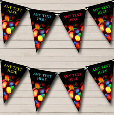 Disco Lights Birthday Party Banner