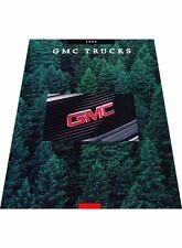 1993 GMC Truck Sales Brochure - Typhoon Yukon Sierra Rally Van Suburban Sonoma