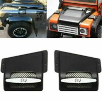 Car Metal Air Intakes Cover 1:10 for Land Rover Defender D90 D110 Traxxas TRX4