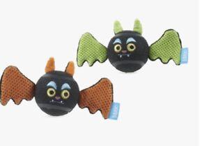 🐶NWT Bark Box Freakwent Flyer Dynamic Duo FETCH Dog Ball Toys Bats Squeak