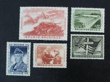 CKStamps: Belgium Stamps Collection Scott#B606-B610 Mint NH OG