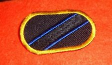 ARMY PATCH, PARACHUTE BACKGROUND OVAL,  INTELLIGENCE SUPPORT ACTIVITY,