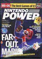 2007 Nintendo Power Magazine Vol. #220 October Wii Super Mario Galaxy Nice