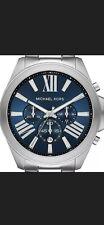 Michael Kors Wren Men's Deep Blue Multi Dial Chronograph 44mm Watch MK8765