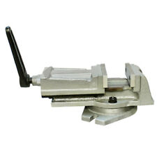 Heavy Duty 4 Swivel Base Milling Machine Vise With Ruler 3 18 Jaw Opening