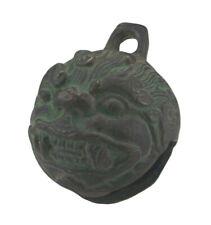 Alte Glocke Viehglocke Ziegen Glocke guter Klang Bronze Nordindien