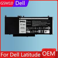 OEM Genuine G5M10 Battery For Dell Latitude 3160 E5250 E5450 E5550 WYJC2 8V5GX