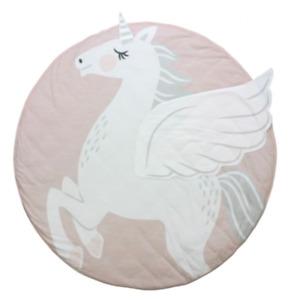 Baby/Infant play Mat round - Unicorn
