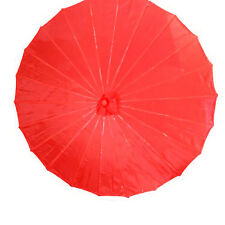 "22"" Chinese Oriental Japanese Dancing Nylon Umbrella Parasol Multiple Colors"