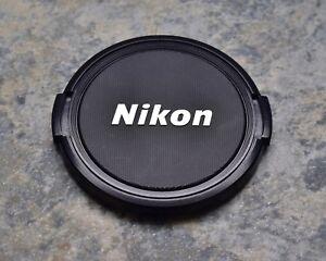 EX Retro Genuine Nikon NIKKOR 62mm Snap-on Front Lens Cap Japan (#2044)