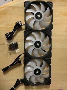 Corsair iCUE SP120 RGB PRO Performance 120mm Fans Three Pack