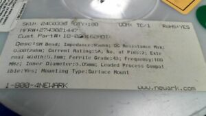 COIL INDUCTOR 2743021447 FAIR RITE PRODUCTS COIL INDUCTOR FAIR-RITE