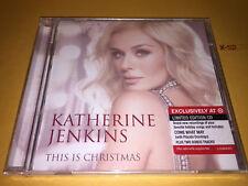 KATHERINE JENKINS cd THIS IS CHRISTMAS x-mas hits TARGET 2 BONUS placido domingo