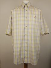 Marlboro Classics Mens Multi Coloured Pima Cotton Short Sleeved Shirt Size XL