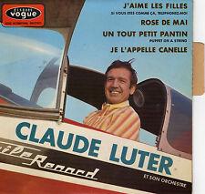 CLAUDE LUTER J'AIME LES FILLES FRENCH ORIG EP