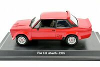Fiat 131 Abarth Car Models Scale 1:43 vehicles road diecast NOREV Story