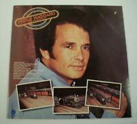 Merle Haggard-My Love Affair with Trains-Album Vinyl Record LP ST-11544, VG+