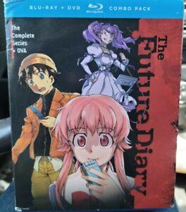 The Future Diary *RARE Original 9-Disc Blu-ray DVD Combo Set Complete Series OVA