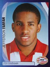 Panini 310 Jefferson Farfan PSV Eindhoven UEFA CL 2007/08