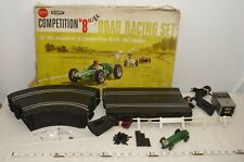 "SEARS ALLSTATE STROMBECKER COMPETITION ""8"" SLOT CAR SET 1/32 WITH CAR BOXED"