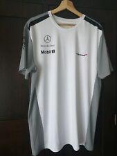 Mclaren Mercedez-Benz Mobil 1 Pirelli Boss TAGHeuer Mens T-shirt Tee Size XL