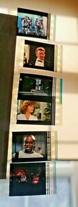 they live 35mm set of six film cells rare john carpenter meg foster original