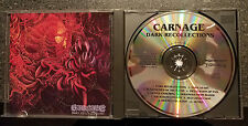 CARNAGE**DARK RECOLLECTIONS**entombed / Dismember**1990 EARACHE**ORIGINAL**RARE