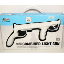 Combined Light gun for Nintendo Wii Remote Wiimote controller pistola bianca