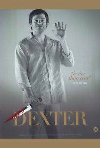 """""""DEXTER"""" Poster [Licensed-NEW-USA] 27x40"""" Theater Size (B)"""