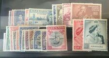 Grenada GVI 1938-50, Coronation, Victory, UPU and RSW sets. VFM