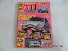 GTI MAG N°37 03/2000 TUNING 306 BMW HIMSA 205 GTI FIESTA COSWORTH R5 GT TURBO I5